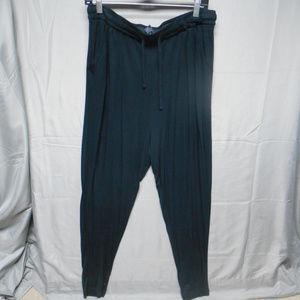 NWOT Express black elastic waist pants M